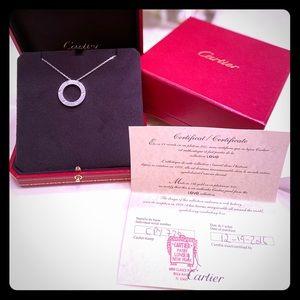 Cartier 6 Diamond Love Necklace